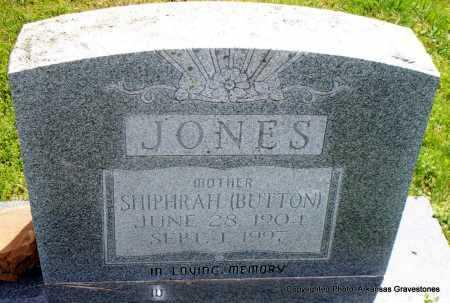 JONES, SHIPHRAH - Scott County, Arkansas | SHIPHRAH JONES - Arkansas Gravestone Photos