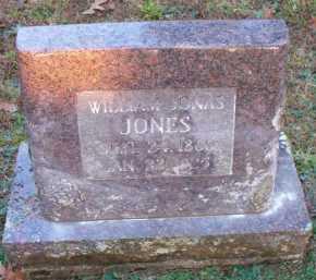 JONES, WILLIAM JONAS - Scott County, Arkansas   WILLIAM JONAS JONES - Arkansas Gravestone Photos