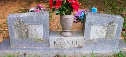 KEENER, ARTHUR C - Scott County, Arkansas | ARTHUR C KEENER - Arkansas Gravestone Photos