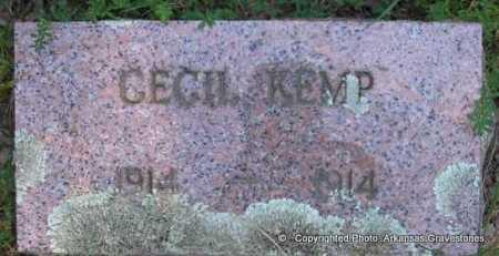 KEMP, CECIL - Scott County, Arkansas   CECIL KEMP - Arkansas Gravestone Photos