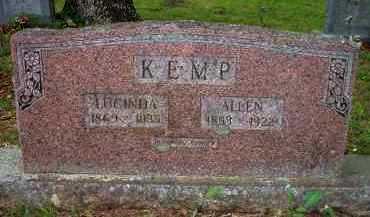 KEMP, LUCINDA - Scott County, Arkansas | LUCINDA KEMP - Arkansas Gravestone Photos