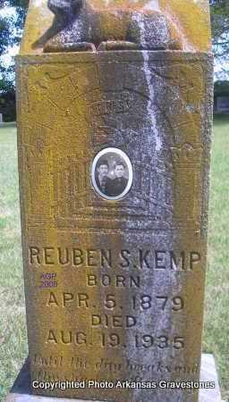 KEMP, REUBEN S - Scott County, Arkansas   REUBEN S KEMP - Arkansas Gravestone Photos