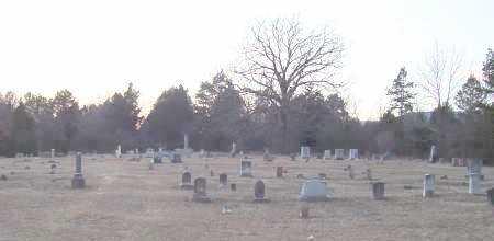 *KIRK CEMETERY OVERVIEW,  - Scott County, Arkansas |  *KIRK CEMETERY OVERVIEW - Arkansas Gravestone Photos