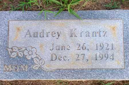 KRANTZ, AUDREY - Scott County, Arkansas | AUDREY KRANTZ - Arkansas Gravestone Photos