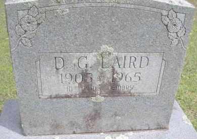 LAIRD, D G - Scott County, Arkansas | D G LAIRD - Arkansas Gravestone Photos