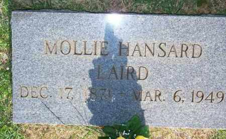 HANSARD LAIRD, MOLLIE - Scott County, Arkansas | MOLLIE HANSARD LAIRD - Arkansas Gravestone Photos