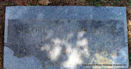 LANCASTER, DELORIS M - Scott County, Arkansas | DELORIS M LANCASTER - Arkansas Gravestone Photos