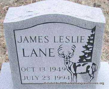 LANE, JAMES LESLIE - Scott County, Arkansas   JAMES LESLIE LANE - Arkansas Gravestone Photos