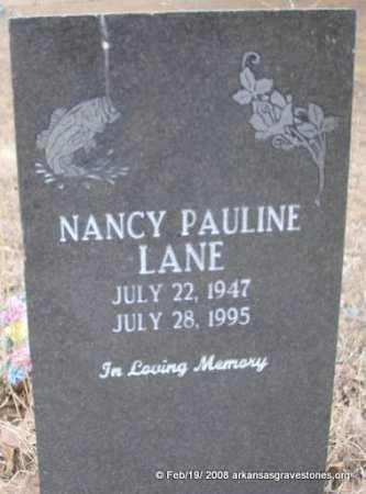 LANE, NANCY PAULINE - Scott County, Arkansas | NANCY PAULINE LANE - Arkansas Gravestone Photos