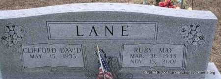 LANE, RUBY MAY - Scott County, Arkansas | RUBY MAY LANE - Arkansas Gravestone Photos