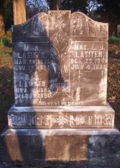 LASITER, E J, MRS - Scott County, Arkansas | E J, MRS LASITER - Arkansas Gravestone Photos