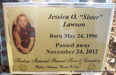 "LAWSON, JESSICA ORENE ""SISTER"" - Scott County, Arkansas | JESSICA ORENE ""SISTER"" LAWSON - Arkansas Gravestone Photos"
