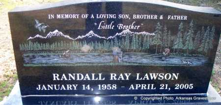 LAWSON, RANDALL RAY - Scott County, Arkansas | RANDALL RAY LAWSON - Arkansas Gravestone Photos