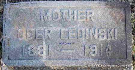 LEDINSKI, ODER - Scott County, Arkansas | ODER LEDINSKI - Arkansas Gravestone Photos