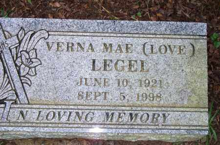 LEGAL, VERNA MAE - Scott County, Arkansas | VERNA MAE LEGAL - Arkansas Gravestone Photos