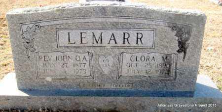 LEMARR, CLORA M - Scott County, Arkansas | CLORA M LEMARR - Arkansas Gravestone Photos