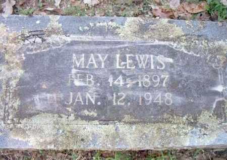 LEWIS, MAY - Scott County, Arkansas   MAY LEWIS - Arkansas Gravestone Photos