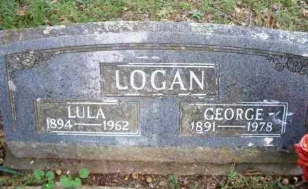 RAINS LOGAN, LULA - Scott County, Arkansas | LULA RAINS LOGAN - Arkansas Gravestone Photos