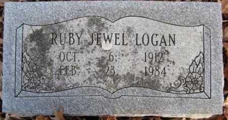 LOGAN, RUBY JEWEL - Scott County, Arkansas | RUBY JEWEL LOGAN - Arkansas Gravestone Photos