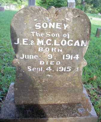 LOGAN, SONEY - Scott County, Arkansas | SONEY LOGAN - Arkansas Gravestone Photos