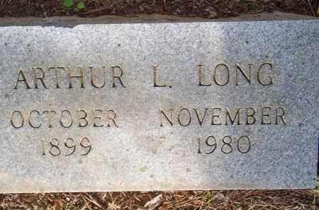 LONG, ARTHUR L - Scott County, Arkansas | ARTHUR L LONG - Arkansas Gravestone Photos