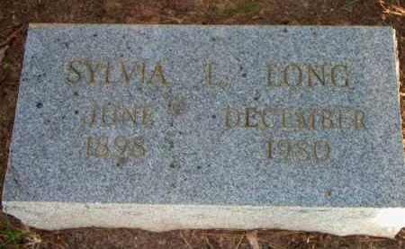 LONG, SYLVIA L - Scott County, Arkansas   SYLVIA L LONG - Arkansas Gravestone Photos