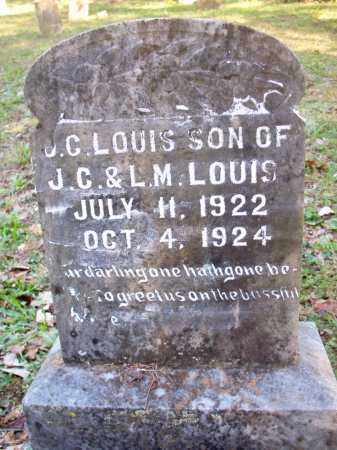 LOUIS, J C - Scott County, Arkansas | J C LOUIS - Arkansas Gravestone Photos