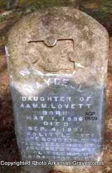 LOVETT, MAYBELL - Scott County, Arkansas | MAYBELL LOVETT - Arkansas Gravestone Photos