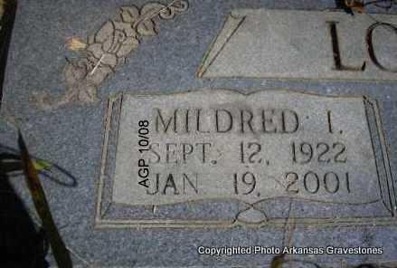 LOVETT, MILDRED   (CLOSEUP) - Scott County, Arkansas | MILDRED   (CLOSEUP) LOVETT - Arkansas Gravestone Photos