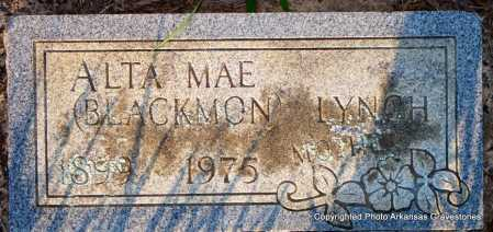 BLACKMON LYNCH, ALTA MAE - Scott County, Arkansas | ALTA MAE BLACKMON LYNCH - Arkansas Gravestone Photos