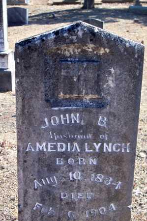 LYNCH, JOHN B - Scott County, Arkansas | JOHN B LYNCH - Arkansas Gravestone Photos