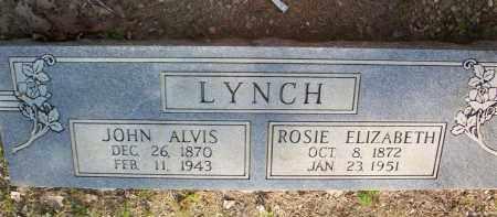 LYNCH, JOHN ALVIS - Scott County, Arkansas | JOHN ALVIS LYNCH - Arkansas Gravestone Photos