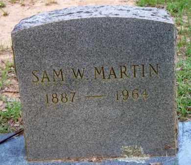 MARTIN, SAM W - Scott County, Arkansas | SAM W MARTIN - Arkansas Gravestone Photos