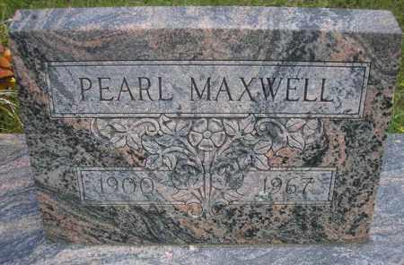 MAXWELL, PEARL - Scott County, Arkansas   PEARL MAXWELL - Arkansas Gravestone Photos