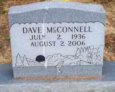 MCCONNELL, DAVE - Scott County, Arkansas | DAVE MCCONNELL - Arkansas Gravestone Photos