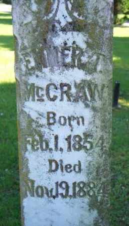 MCCRAW, EMMER T - Scott County, Arkansas | EMMER T MCCRAW - Arkansas Gravestone Photos