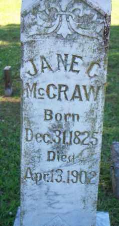 MCCRAW, JANE C - Scott County, Arkansas   JANE C MCCRAW - Arkansas Gravestone Photos