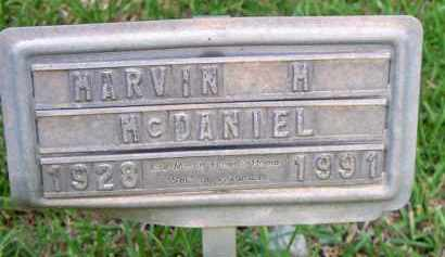 MCDANIEL, MARVIN M - Scott County, Arkansas | MARVIN M MCDANIEL - Arkansas Gravestone Photos
