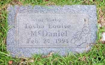 MCDANIEL, TOSHA LOUISE - Scott County, Arkansas   TOSHA LOUISE MCDANIEL - Arkansas Gravestone Photos