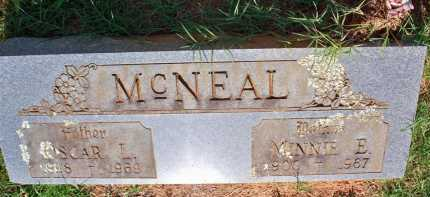 MCNEAL, OSCAR L - Scott County, Arkansas | OSCAR L MCNEAL - Arkansas Gravestone Photos