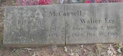 MCCONNELL, WALTER LEE - Scott County, Arkansas | WALTER LEE MCCONNELL - Arkansas Gravestone Photos