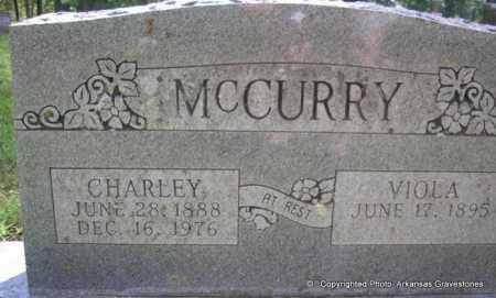 MCCURRY, CHARLEY LESTER - Scott County, Arkansas | CHARLEY LESTER MCCURRY - Arkansas Gravestone Photos