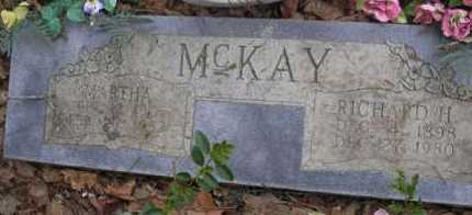 MCKAY, MARTHA - Scott County, Arkansas | MARTHA MCKAY - Arkansas Gravestone Photos