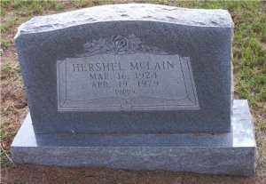 MCLAIN, HERSHEL - Scott County, Arkansas | HERSHEL MCLAIN - Arkansas Gravestone Photos