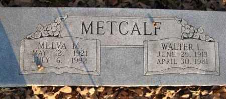 JOHNSON METCALF, MELVA - Scott County, Arkansas | MELVA JOHNSON METCALF - Arkansas Gravestone Photos