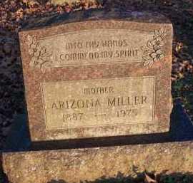 MILLER, ARIZONA - Scott County, Arkansas | ARIZONA MILLER - Arkansas Gravestone Photos