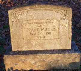 MILLER, FRANK - Scott County, Arkansas | FRANK MILLER - Arkansas Gravestone Photos