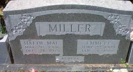 MILLER, HATTIE MAE - Scott County, Arkansas | HATTIE MAE MILLER - Arkansas Gravestone Photos