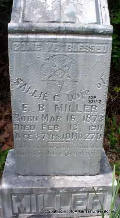 BALES/BOLES MILLER, SARAH AKA SALLIE - Scott County, Arkansas   SARAH AKA SALLIE BALES/BOLES MILLER - Arkansas Gravestone Photos