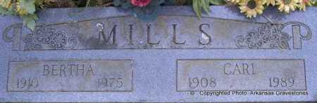 MILLS, CARL - Scott County, Arkansas | CARL MILLS - Arkansas Gravestone Photos